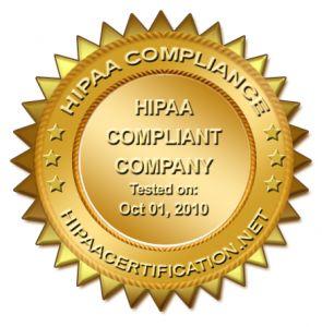 HIPAA Compliant Certificate
